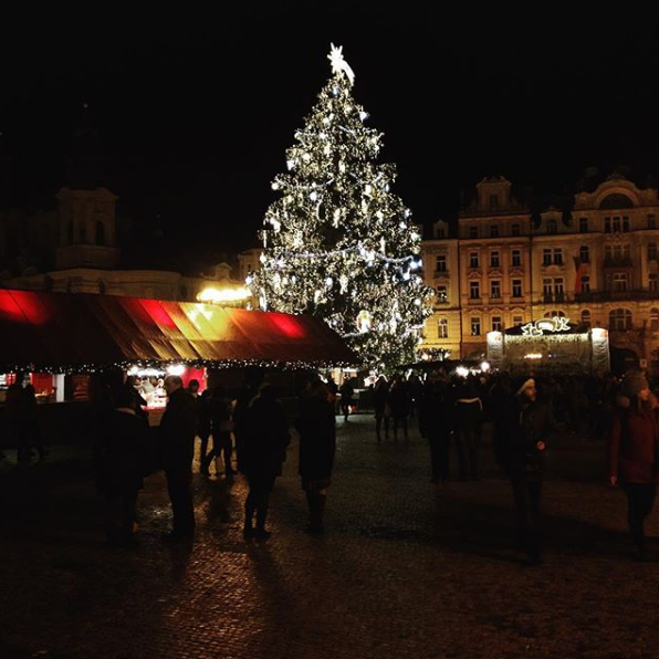 Christmas in Prague.
